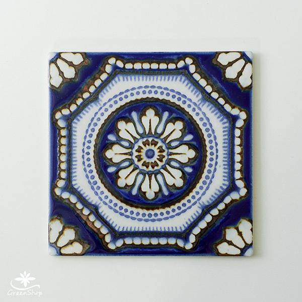 タイル おしゃれ 雑貨 デザインタイル ANDORRA 15cm|hana-kazaru|03