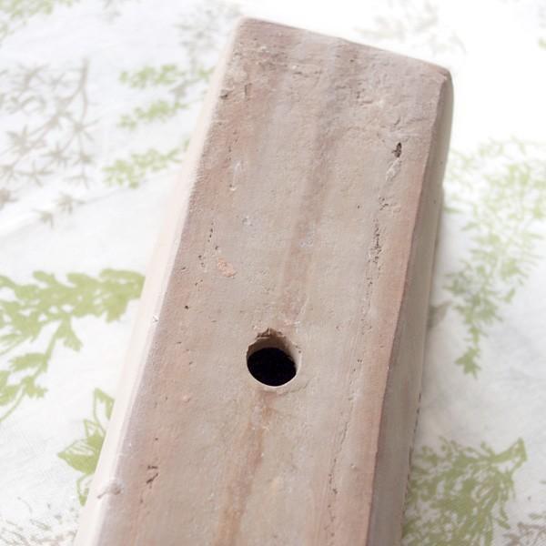 プランター おしゃれ 植木鉢 素焼きのナチュラルプランター RECT 約W37×D13×H13cm|hana-kazaru|05