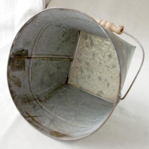 鉢カバー おしゃれなブリキの鉢カバー BLOOM BUCKET Lサイズ|hana-kazaru|03