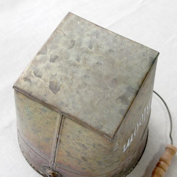 鉢カバー おしゃれなブリキの鉢カバー BLOOM BUCKET Lサイズ|hana-kazaru|04
