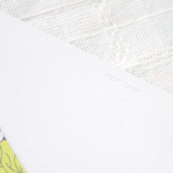 ポストカード おしゃれ グリーンリーフ・日本郵便クリックポスト対応:可/1通60枚まで|hana-kazaru|03