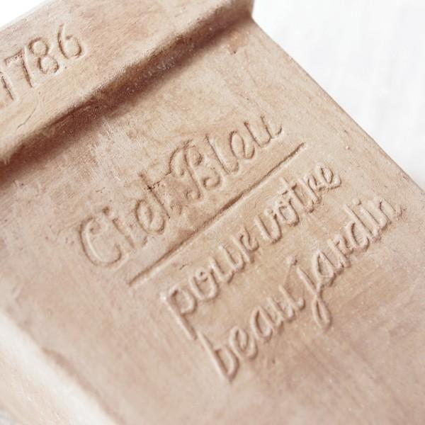 プランター おしゃれ 植木鉢 素焼きのナチュラルプランター SQUARE 4.5号|hana-kazaru|06