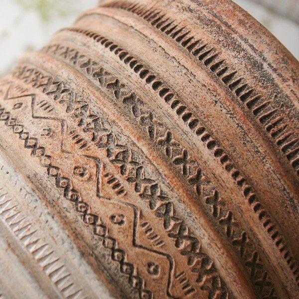 プランター おしゃれ 植木鉢 陶器 リライフラインプランター Lサイズ 6.5号単品|hana-kazaru|03