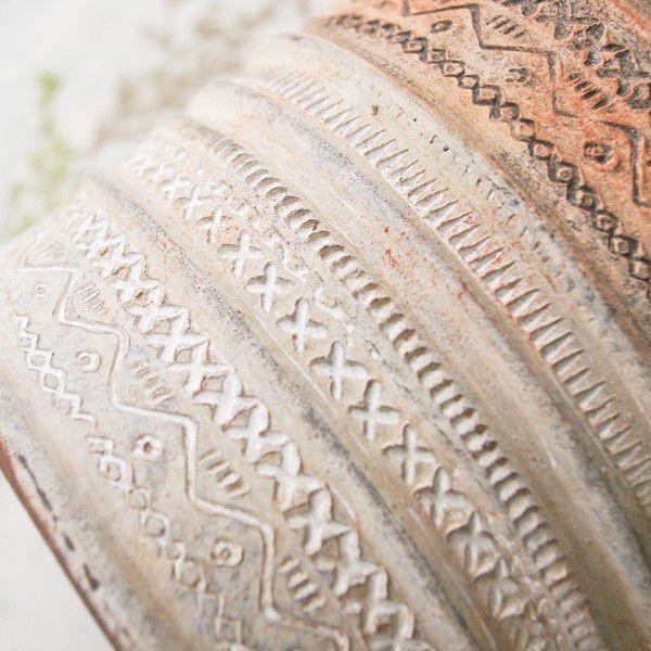 プランター おしゃれ 植木鉢 陶器 リライフラインプランター Lサイズ 6.5号単品|hana-kazaru|05