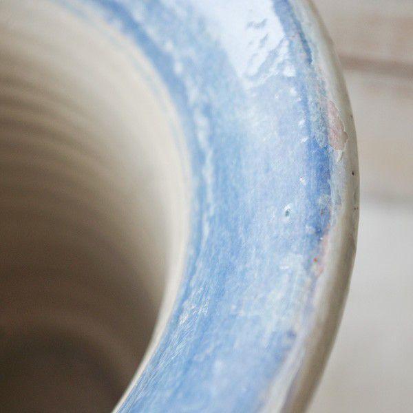 プランター おしゃれ 植木鉢 陶器 ロワール・ディープポット 7号|hana-kazaru|02