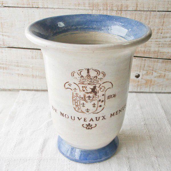 プランター おしゃれ 植木鉢 陶器 ロワール・ディープポット 7号|hana-kazaru|06