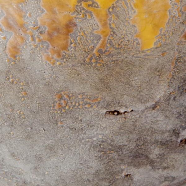 プランター おしゃれ 植木鉢 陶器 シャビードリッププランター イエロー 約6.5号|hana-kazaru|03