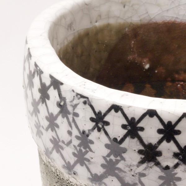 プランター おしゃれ 植木鉢 陶器 クラシカルハイプランター Sサイズ 約4.5号|hana-kazaru|02