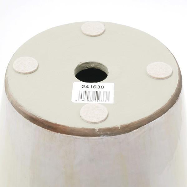 プランター おしゃれ 植木鉢 陶器 プロバンスパピルス ホワイト 約7号|hana-kazaru|05