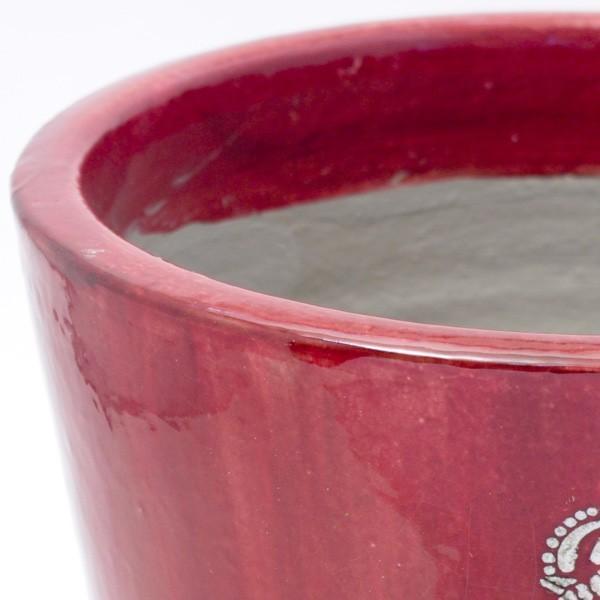 プランター おしゃれ 植木鉢 陶器 プロバンブリック レッド 約7号|hana-kazaru|02