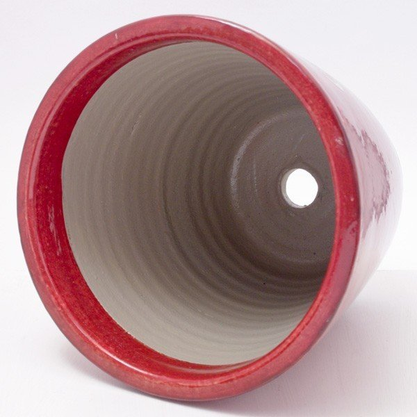 プランター おしゃれ 植木鉢 陶器 プロバンブリック レッド 約7号|hana-kazaru|04