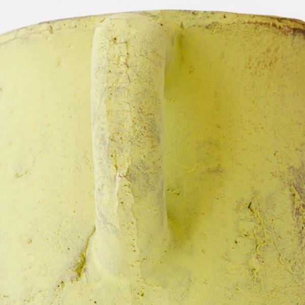 プランター おしゃれ 植木鉢 素焼きのアンティーク風ピッチャープランター グリーン 約3.5号|hana-kazaru|04