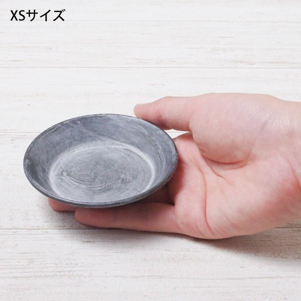 受け皿 おしゃれ 鉢受 ブリキ製シャビートレイ XSサイズ|hana-kazaru|04