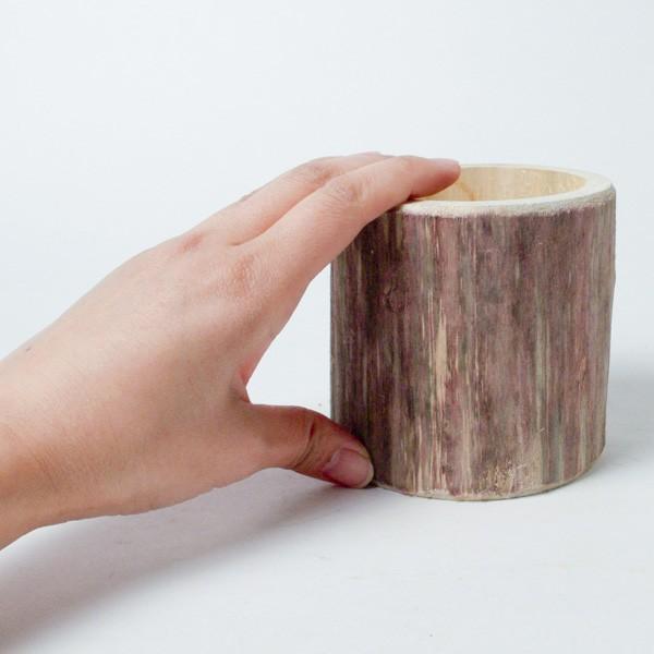 プランター おしゃれ 植木鉢 木製 流木フラワーポット 縦|hana-kazaru|07