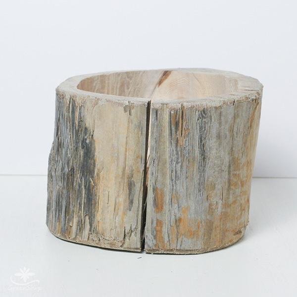 プランター おしゃれ 植木鉢 木製 流木フラワーポット 縦 BIG hana-kazaru 05