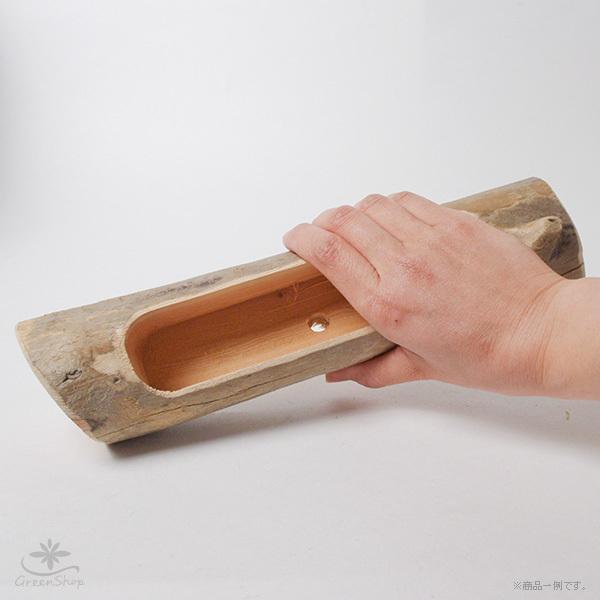 プランター おしゃれ 植木鉢 木製 流木フラワーポット 横長|hana-kazaru|08
