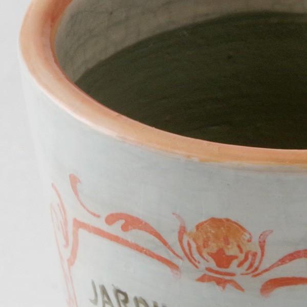 鉢カバー おしゃれ 陶器 ジャルディン フレンチ(底穴無し)|hana-kazaru|02