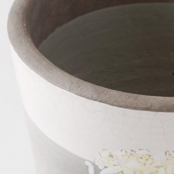 鉢カバー おしゃれ 陶器 ショパン(底穴無し)|hana-kazaru|02