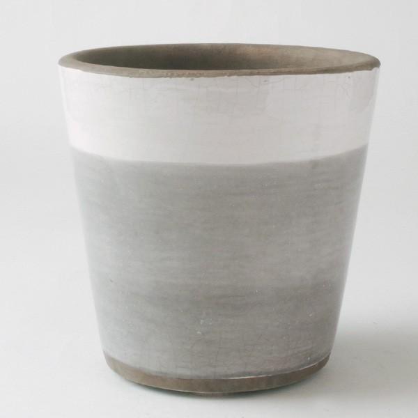 鉢カバー おしゃれ 陶器 ショパン(底穴無し)|hana-kazaru|04
