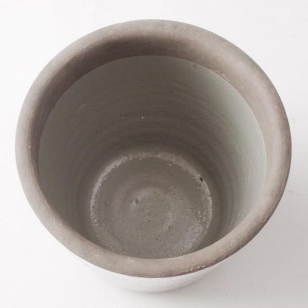 鉢カバー おしゃれ 陶器 ショパン(底穴無し)|hana-kazaru|06
