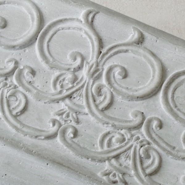 プランター おしゃれ 植木鉢 セメント鉢 ライトグレーセメントポットL レクト 約W23.5×D13.5×H11.5cm|hana-kazaru|05