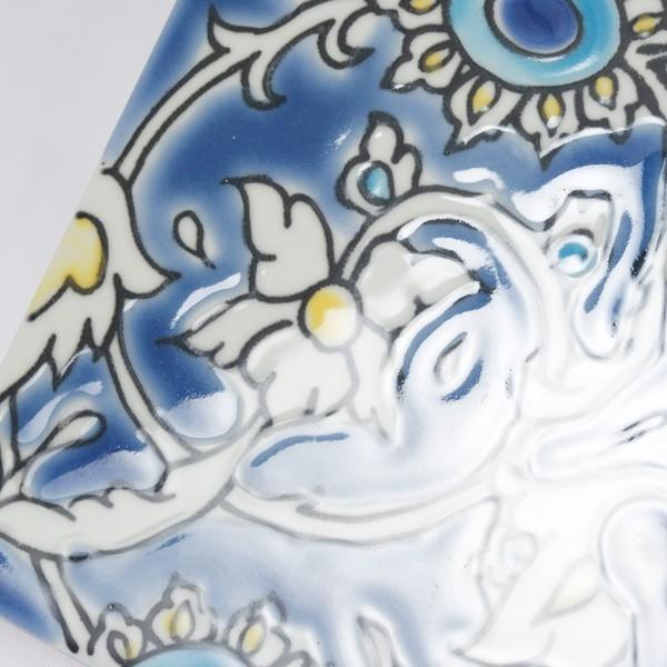 タイル おしゃれ 雑貨 デザインタイル チュニジアタイル BAGDAD 約20cm|hana-kazaru|04