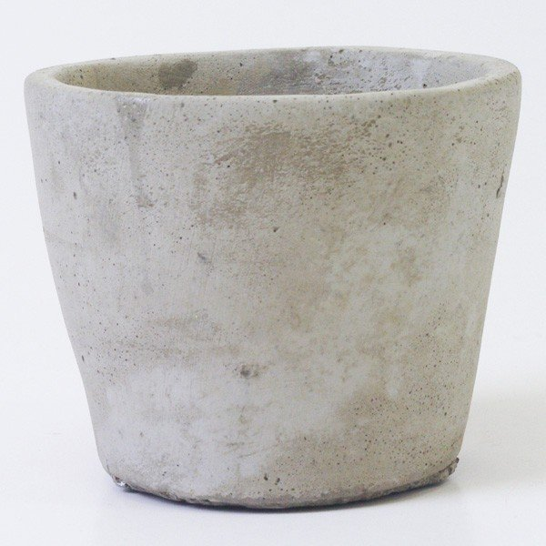 鉢カバー セメント製 こびとプランター Sサイズ|hana-kazaru|04