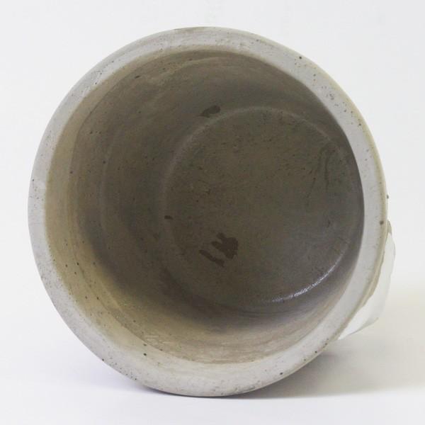 鉢カバー セメント製 こびとプランター Lサイズ|hana-kazaru|05