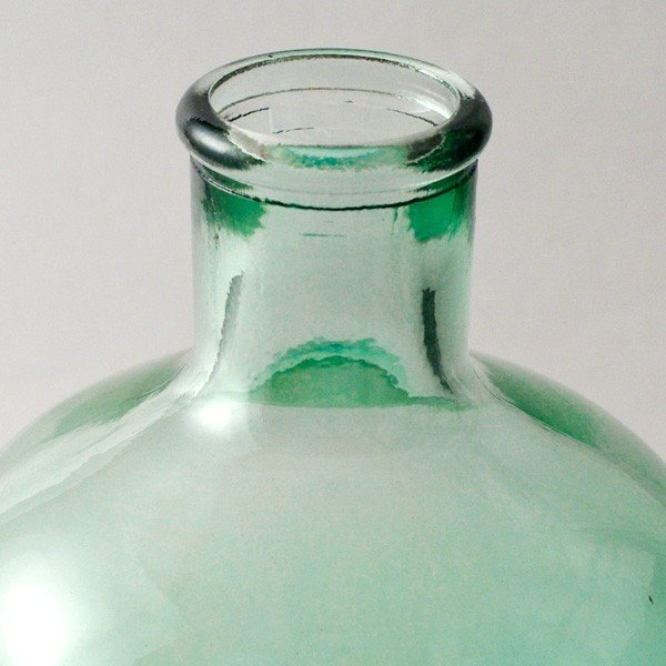 フラワーベース 花瓶 バレンシア・リサイクルガラスベース12 スカイ|hana-kazaru|02