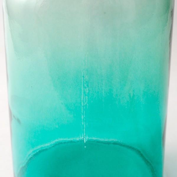 フラワーベース 花瓶 バレンシア・リサイクルガラスベース12 スカイ|hana-kazaru|03