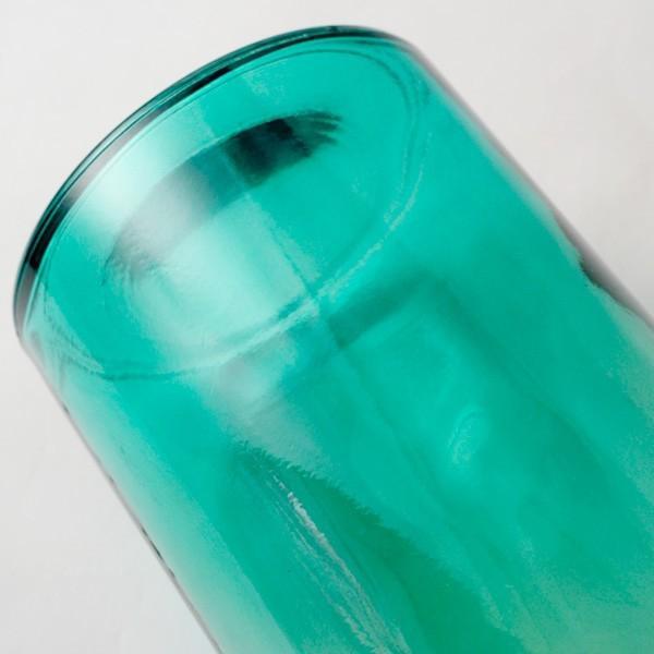 フラワーベース 花瓶 バレンシア・リサイクルガラスベース12 スカイ|hana-kazaru|05