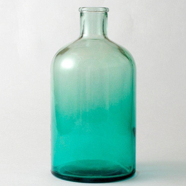 フラワーベース 花瓶 バレンシア・リサイクルガラスベース12 スカイ|hana-kazaru|06