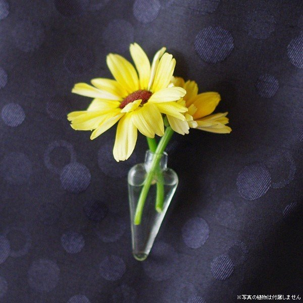 フラワーベース 花瓶 アクセサリー 身に着けられる花瓶 PINKIE|hana-kazaru