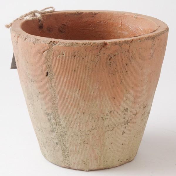 プランター おしゃれ 植木鉢 陶器 モッシーラウンドポット 約5.5号|hana-kazaru|03