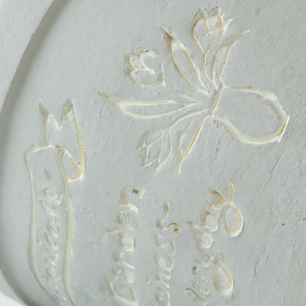 プランター おしゃれ 植木鉢 陶器 ファーネグレーポット 約4.5号|hana-kazaru|03