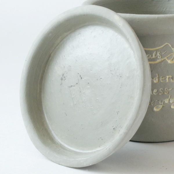プランター おしゃれ 植木鉢 陶器 ファーネグレーポット 約4.5号|hana-kazaru|05