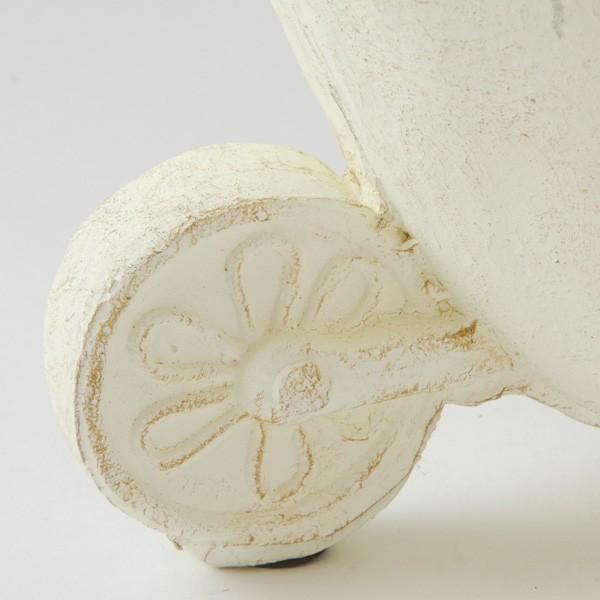 プランター おしゃれ 植木鉢 グラスファイバー製 ローズスプレンディドカート|hana-kazaru|02