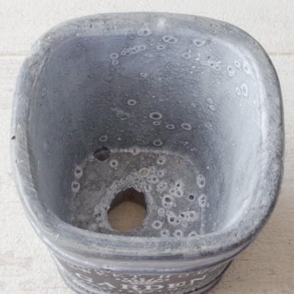 プランター おしゃれ 植木鉢 セメント鉢 スイートホームガーデンミニポット 約W8×D8×H8.5cm|hana-kazaru|05