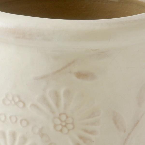 プランター おしゃれ 植木鉢 陶器 クリステンポット 約6号|hana-kazaru|02