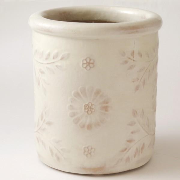 プランター おしゃれ 植木鉢 陶器 クリステンポット 約6号|hana-kazaru|05