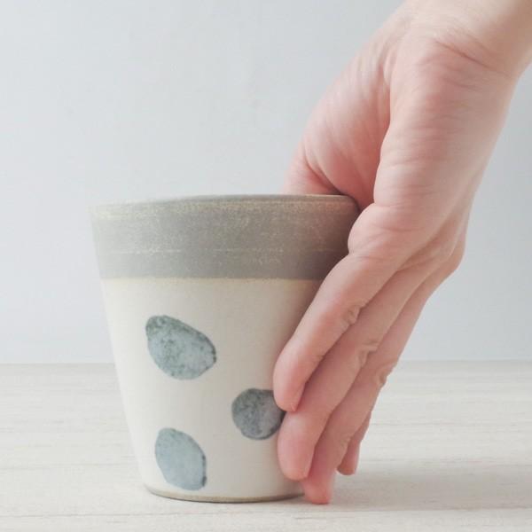 プランター おしゃれ 植木鉢 信楽焼 パロットポット水玉 白 約3号|hana-kazaru|07