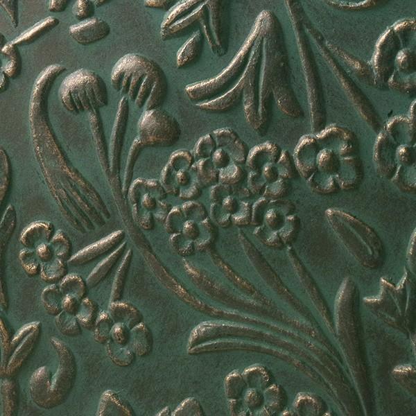 プランター おしゃれ 植木鉢 ファイバークレイ製 ローラアシュレイプランター キューブL グリーン|hana-kazaru|03