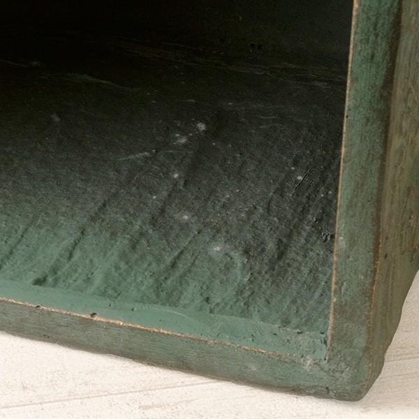 プランター おしゃれ 植木鉢 ファイバークレイ製 ローラアシュレイプランター キューブL グリーン|hana-kazaru|04
