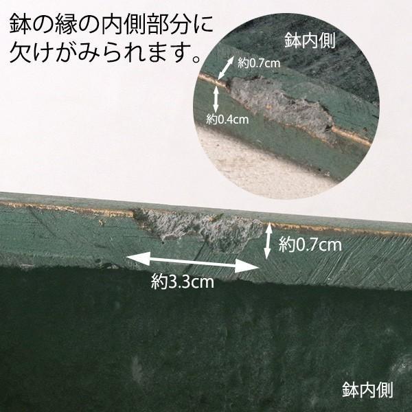 プランター おしゃれ 植木鉢 ファイバークレイ製 ローラアシュレイプランター キューブL グリーン|hana-kazaru|07