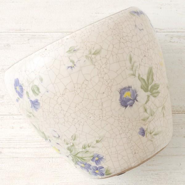 プランター おしゃれ 植木鉢 陶器 ブライトフラワープランター 5号|hana-kazaru|03