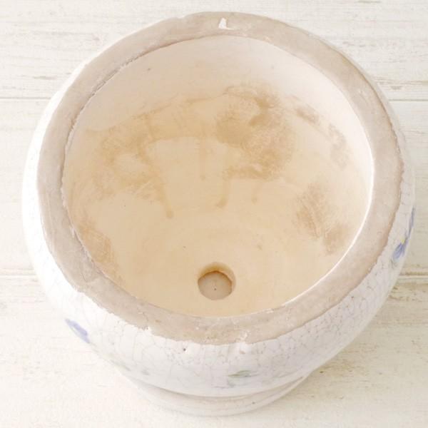 プランター おしゃれ 植木鉢 陶器 ブライトフラワープランター 5号|hana-kazaru|06