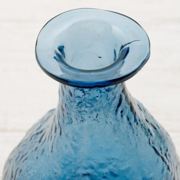 フラワーベース 花瓶 ハンドメイドガラスフラワーベース C|hana-kazaru|03