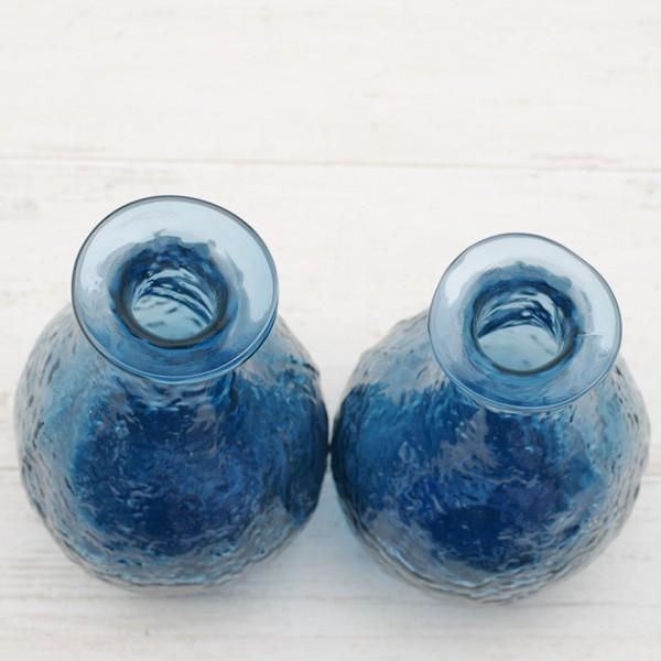 フラワーベース 花瓶 ハンドメイドガラスフラワーベース C|hana-kazaru|05