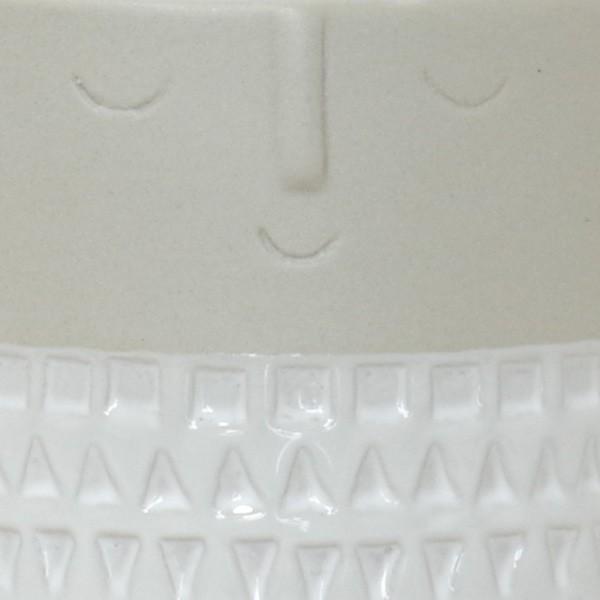 プランター おしゃれ 植木鉢 マスクポットL 約3号|hana-kazaru|04