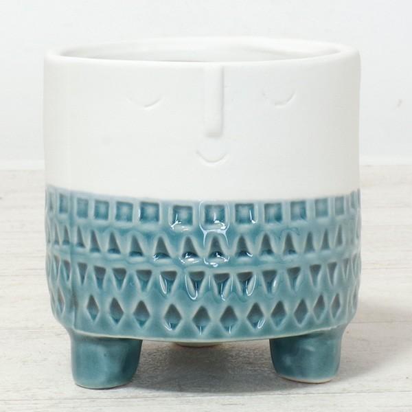 プランター おしゃれ 植木鉢 マスクポットL 約3号|hana-kazaru|09
